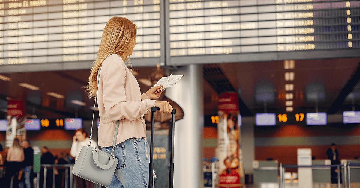girl airport