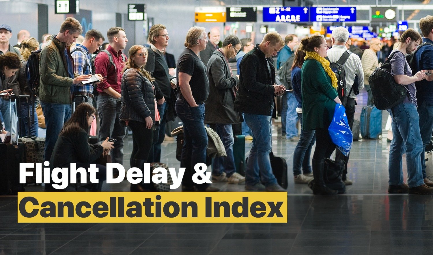 flight delay and cancellation index